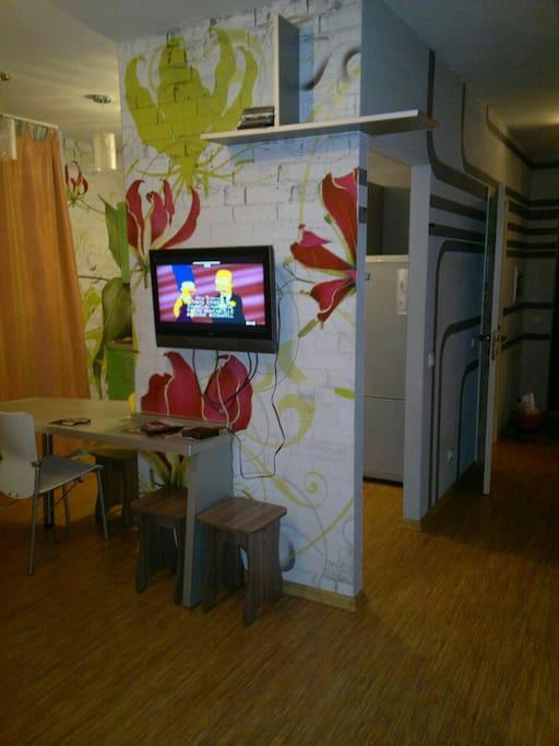 Дизайнерский интерьер комнаты