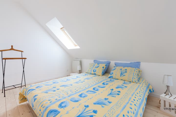 Chambre calme à Saint-Malo