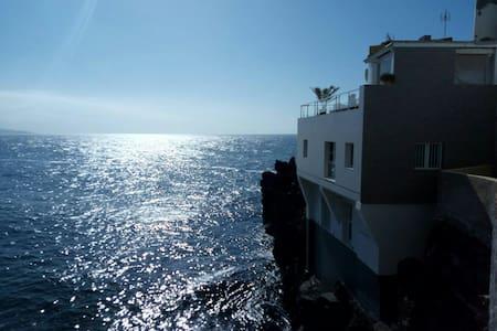 Estudio encima del océano Atlántico - Puerto de la Cruz  - アパート