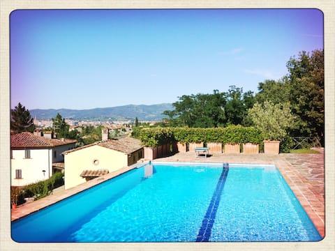 Casa Limonaia: njut av Toscanas kullar!
