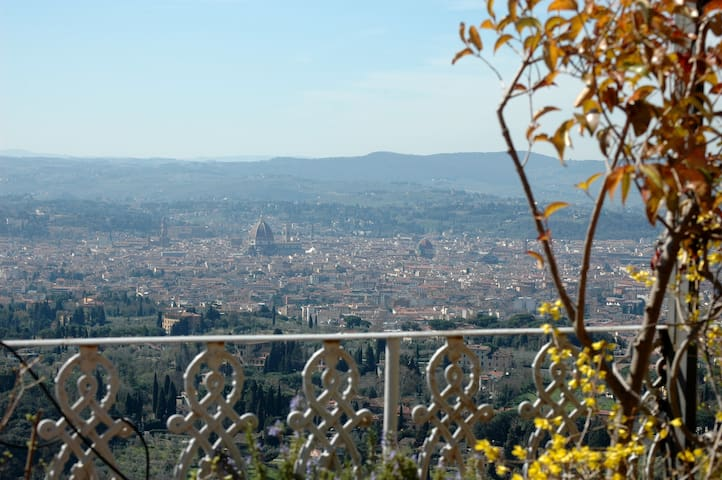 Panoramic penthouse Fiesole Florenc - Fiesole - Appartement