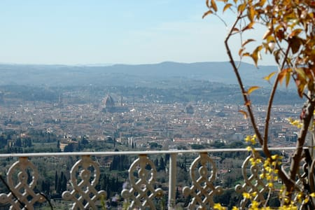 Panoramic penthouse Fiesole Florenc - Fiesole - Byt