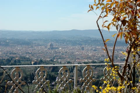 Panoramic penthouse Fiesole Florence