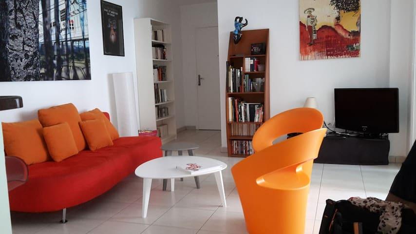 T2 Saint Denis centre ville - Centre - Lägenhet