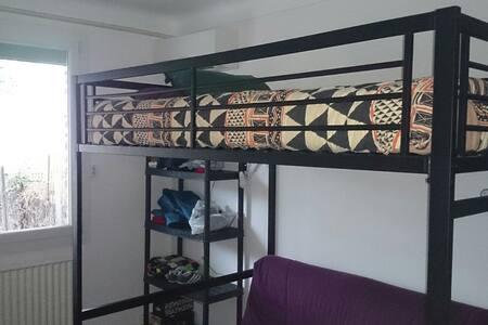 Chambre dans villa tranquille  - Millas