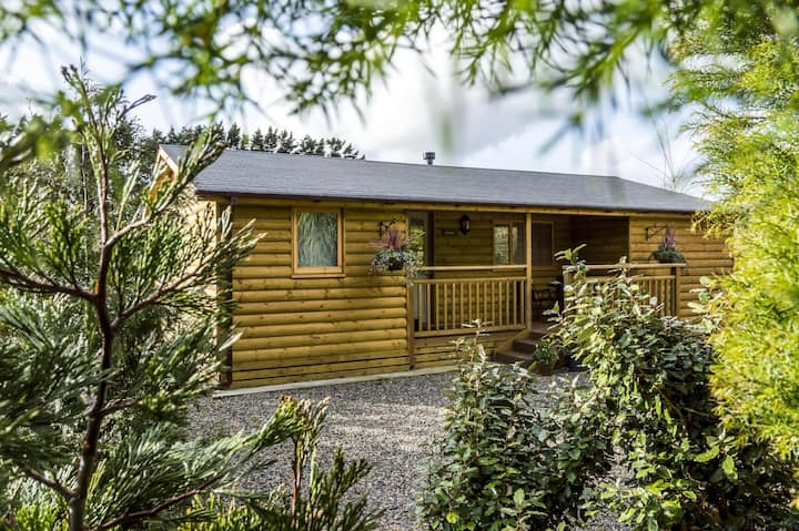 Fern Lodge - 2 Bedroom Log Cabin - Saint Florence - Tenby