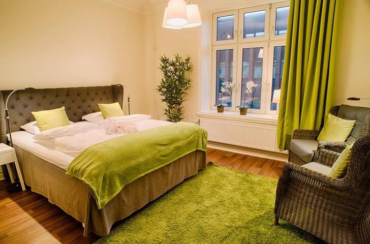 Upp till 4  gäster · 1 sovrum  · 1 privat badrum