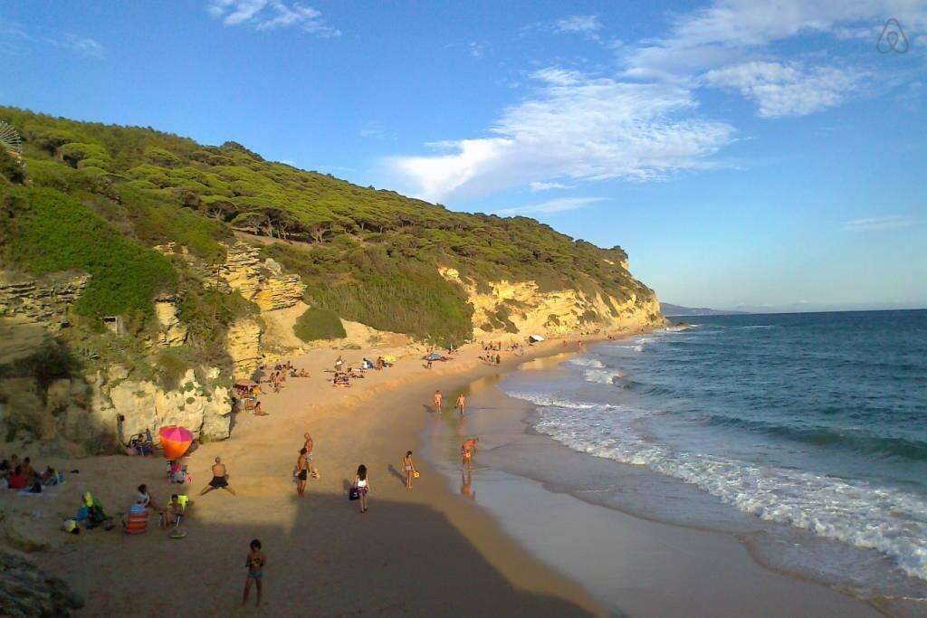 Steilküste hinter Canos