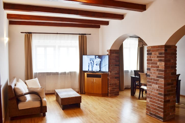 Apartments 4 in the historic part of Znojmo