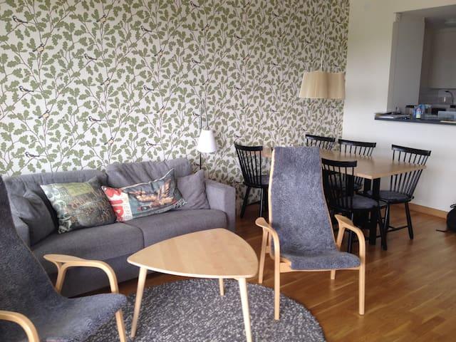 Vacker lägenhet nära Visby och bad - Visby - Apartament
