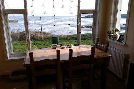 Cliff top beach cottage-double bed - Apartament