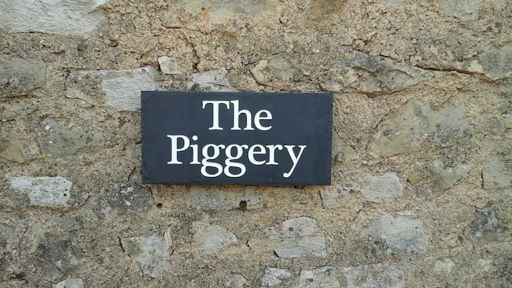 The piggery (renovated barn)