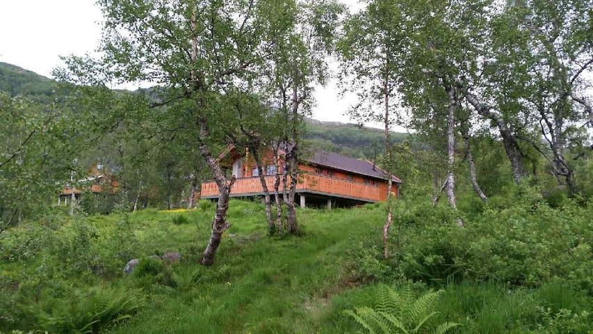 Hytte med utsikt