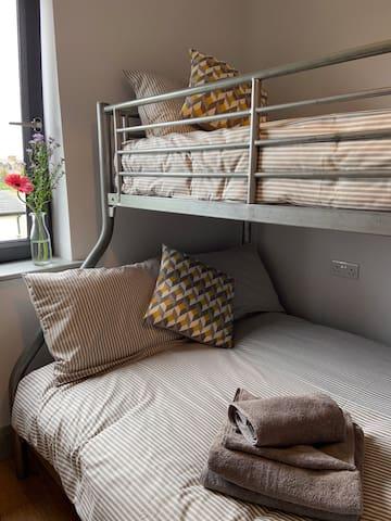 Bunk Beds - Upstairs