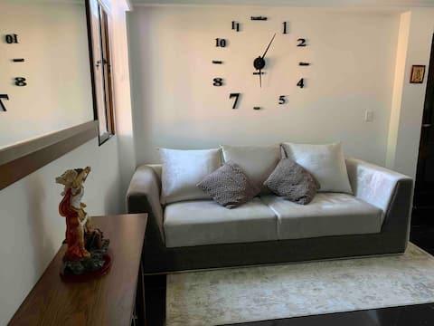 Apartamento amoblado con jacuzzi