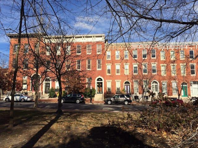 Historic Union Square Park View Apartment - Baltimore - Apartment