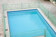 The pool, if you feel like refreshing on fresh spring water!