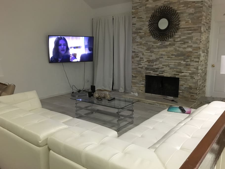 Modern living room and design