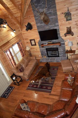 Spacious, Elegant Family Cabin near Lookout Mtn