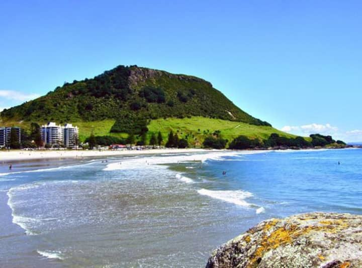 PRICED FOR 2:  BEACH, HOT POOLS, BUS STOP, CAFES