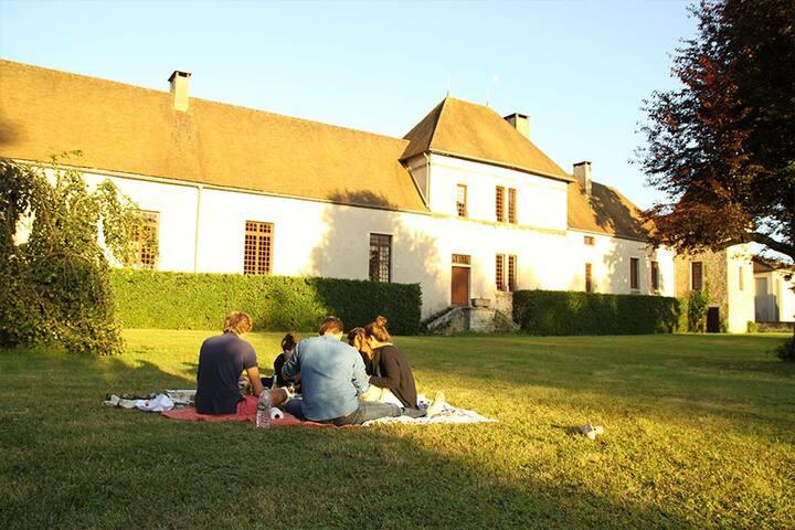 The Tiny Suite of the Château de Bligny Les Beaune