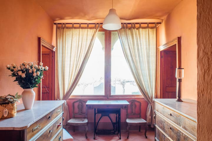 Casa dei Leoni Camera Arancio
