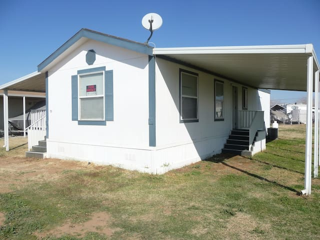 Manufactured home at Colorado River