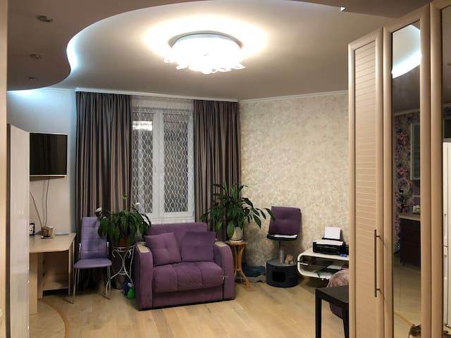 Очень уютная квартира!