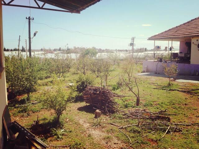 Havuzlu , şömineli doğayla içiçe ev - Kepez - House