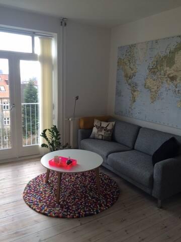 Skøn lejlighed i hjertet af Århus - Aarhus - Wohnung