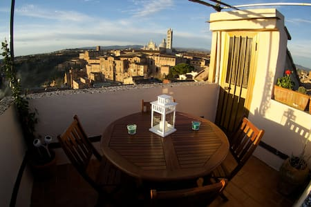 Live Siena from the very top - 錫耶納 - 公寓