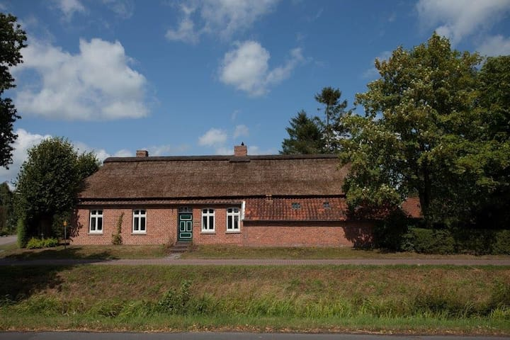 Big farmershouse in the countryside