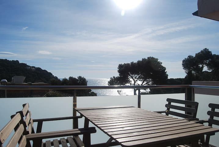 Amazing views near the beach - Tamariu - Apartamento