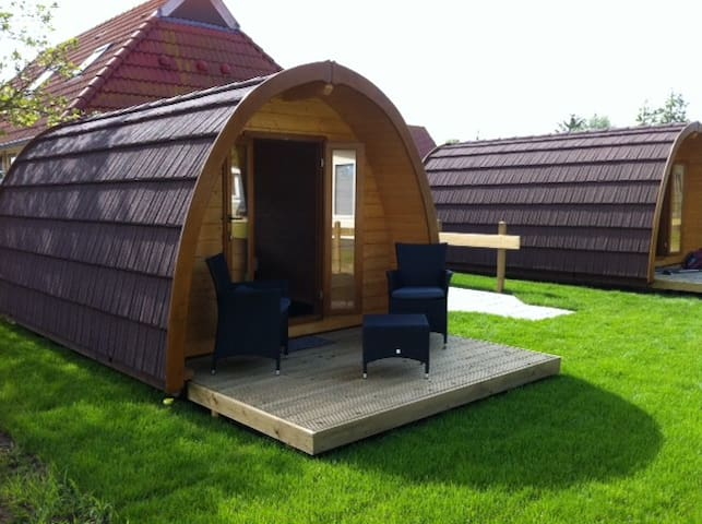 The pods/ woodlodges  - Formerum - Hut