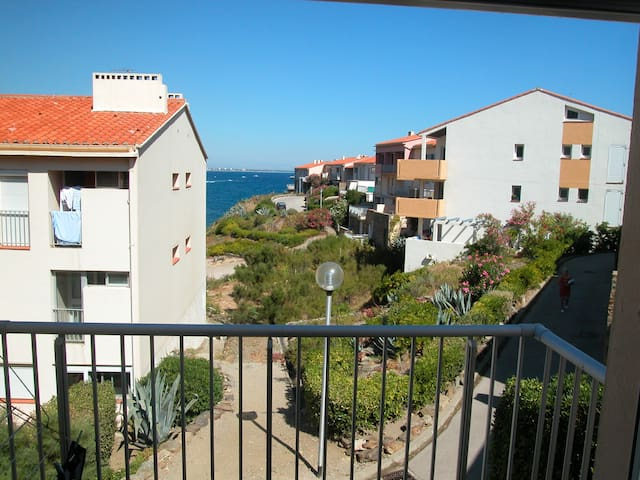 Vue du balcon / A view from the balcony