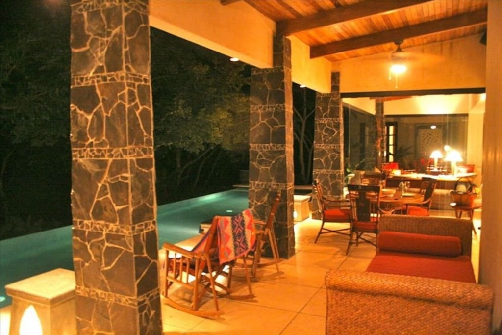 Nite View patio and pool , Care for a dip