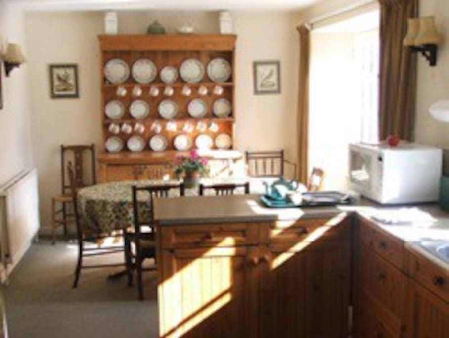 The Kitchen/Dining room