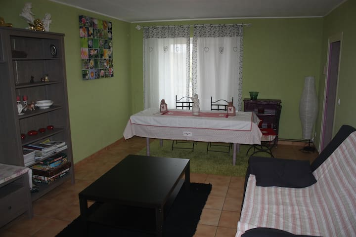 Appartement meublé dans le vignoble - Saint-Paul - Apartamento