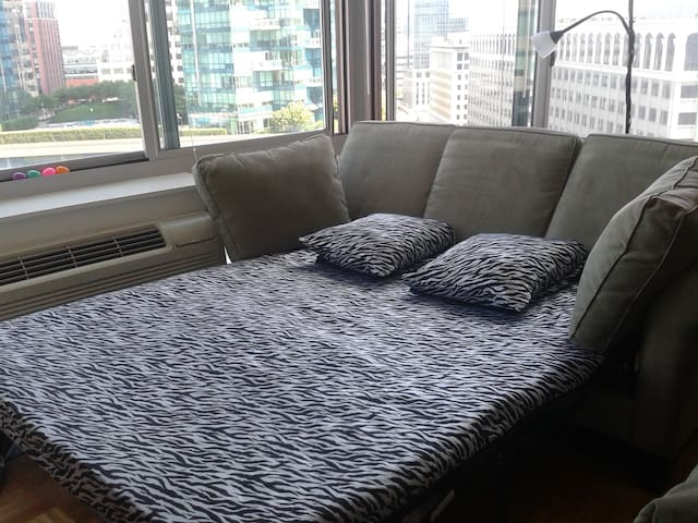 Adorable view-5min to Manhattan/Wtc Apartment - Jersey City - Appartement