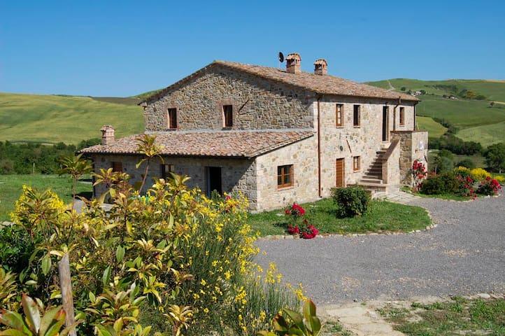 House for 15 p. & pool Val d'Orcia - Celle Sul Rigo - House