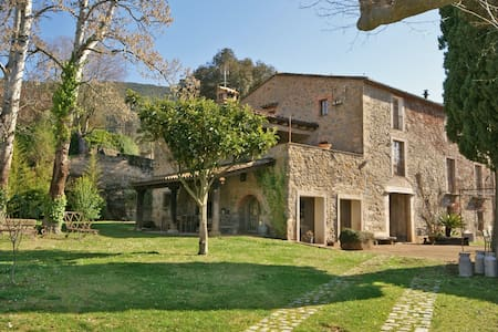 """Spectacular """"Masía"""" near Girona - Sant Martí de Llémena - Haus"""