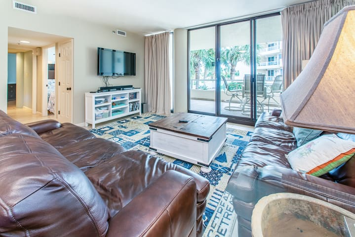 East Pass 102-2BR @ Holi Isle☀DEAL>Oct 15 to 17 $563 Total! Updated+Huge Balcony