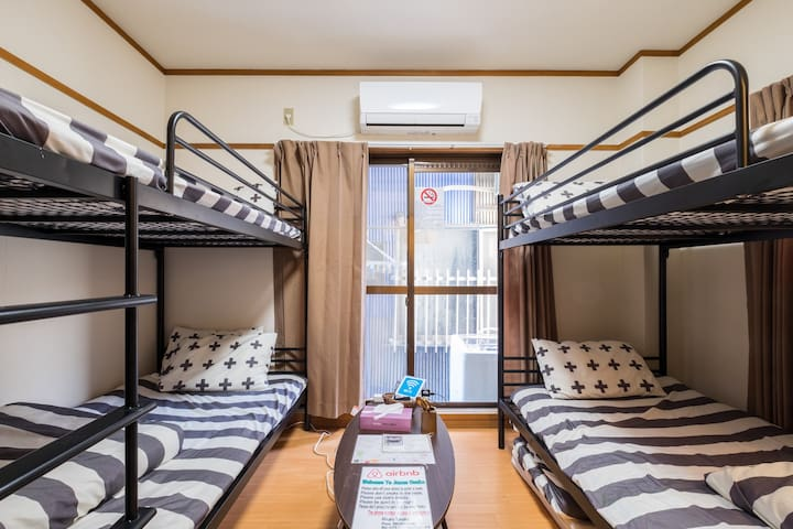 2 Bunk Bed , Not Share-House !!, 5 People Can Stay