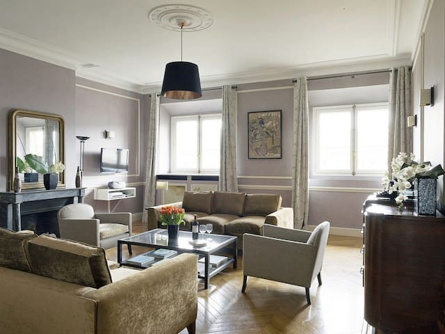 2 bdrm, Charm Across from Louvre - Paris - Villa