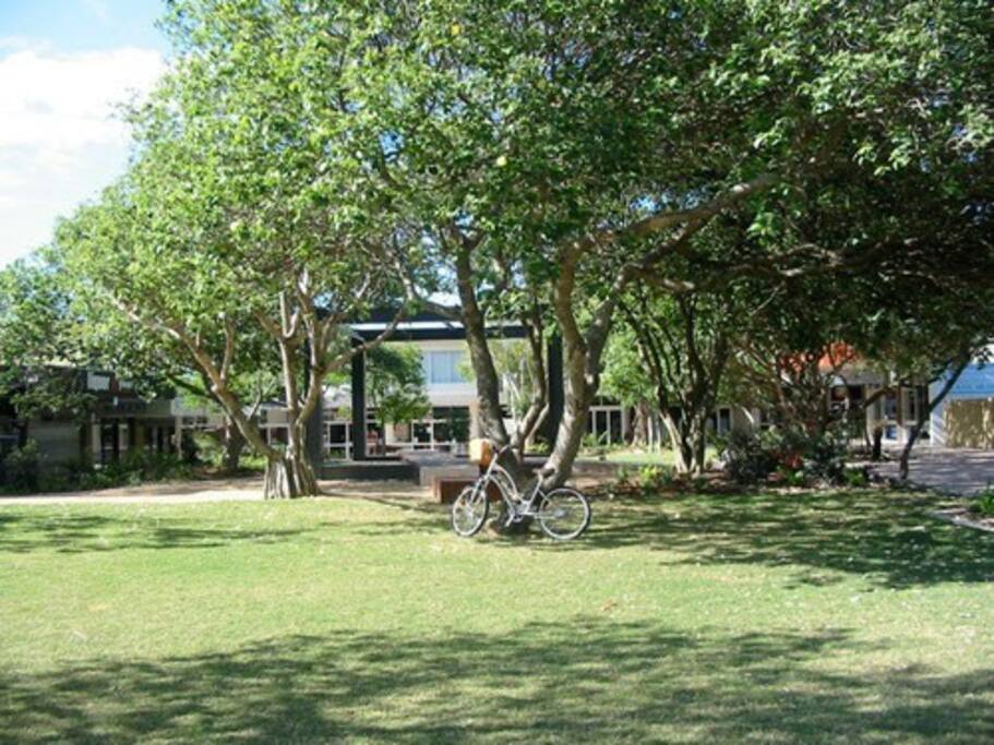 Peregian Village Square 300m walk away