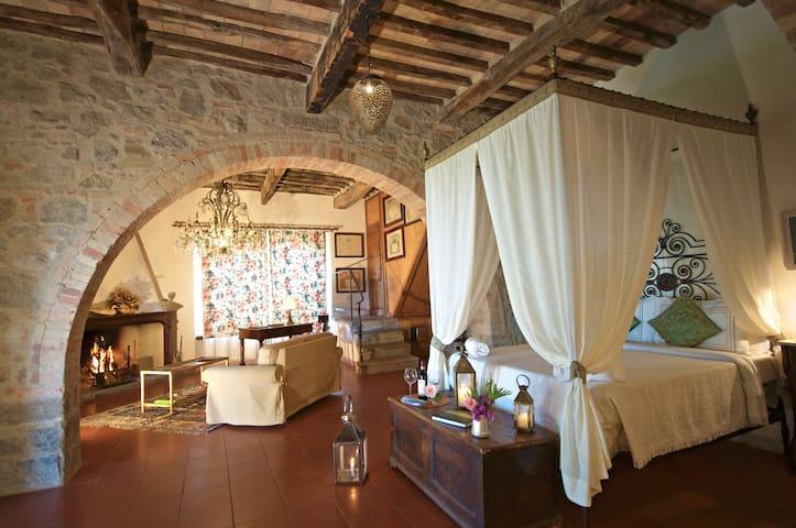 La Foresteria Suite with kitchen