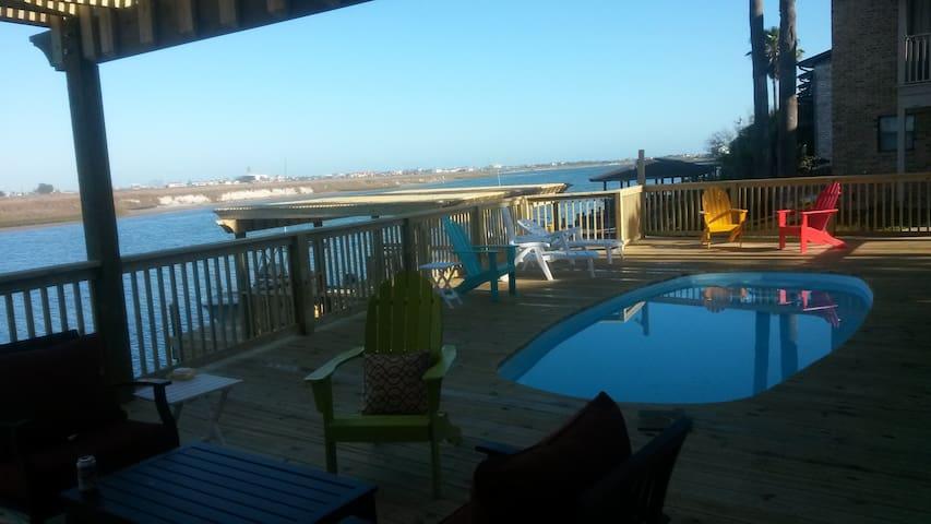 North Padre Waterfront Condo,Boat/Fishing Dock #B2 - Corpus Christi - Apto. en complejo residencial