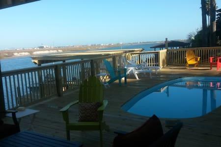 North Padre Waterfront Condo,Boat/Fishing Dock #B2 - Corpus Christi - Osakehuoneisto