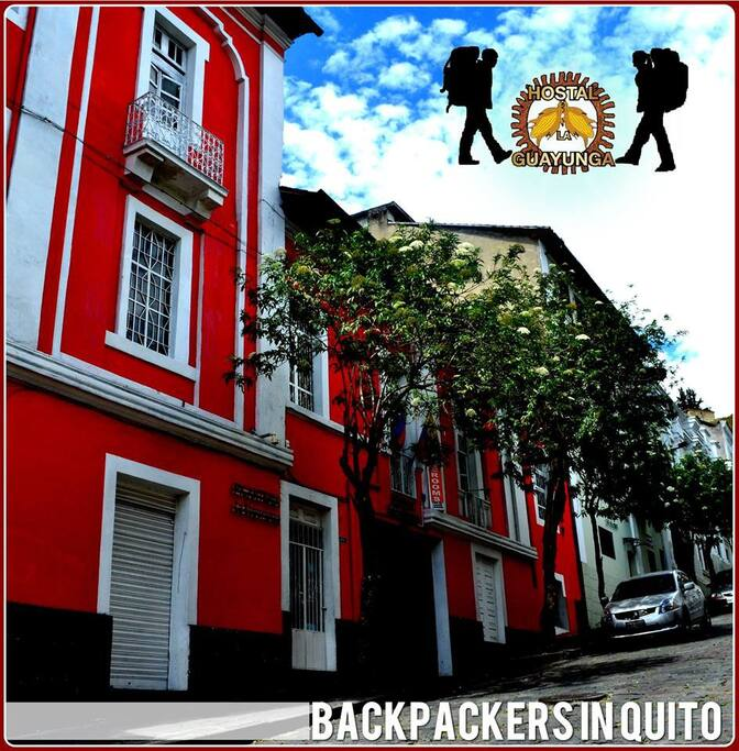 Welcome to Downtown Guayunga Hostel Quito!