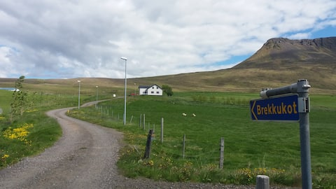 Brekkukot, near Blönduós, North-West Iceland.